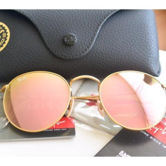 1ad86a87d0fccb Brand New Authentic Ray-Ban RB3447 Round Metal